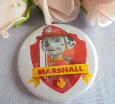button paw patrol marshall ca 58 mm