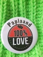 carnaval button paplaand 100% Love