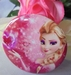 button frozen elsa roze love 58 mm