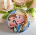 button anna en elsa als kindjes 58 mm